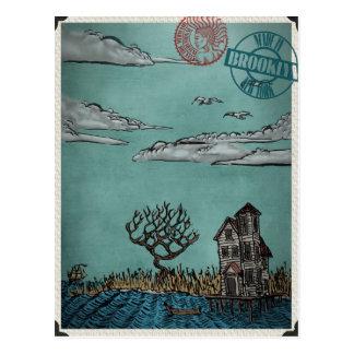 On Stilts by Ordovich Postcard