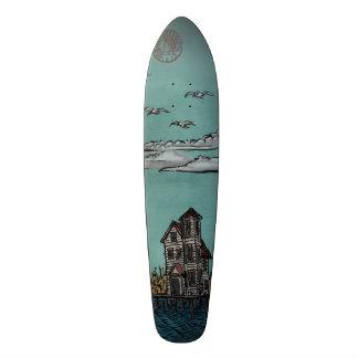 On Stilts, Far Rockaway Skateboard by Ordovich