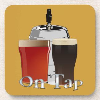 On Tap - Beer / Keg Cork Coaster Set (6)