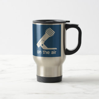 On The Air Travel Mug (Blue)