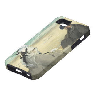 On the Beach - Edouard Manet iPhone 5 Covers