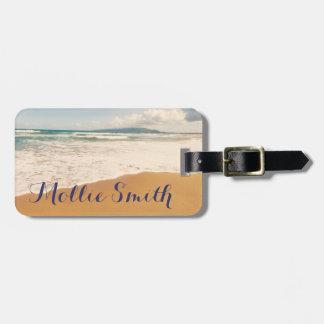 On The Beach Luggage Tag