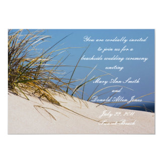 On the Beach Wedding Invitations