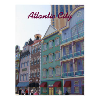 On the Boardwalk--Atlantic City, NJ Postcard