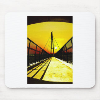 On The Bridge Mouse Pads