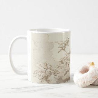 On the cloud coffee mug