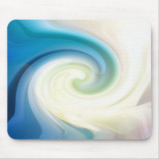 On the crest of a wave mouse pad