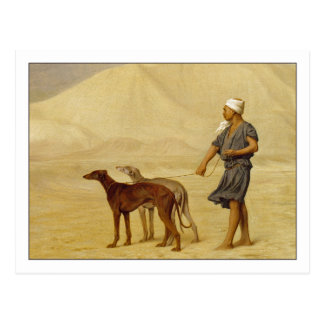 On the Desert by Jean-Leon Gerome Postcard