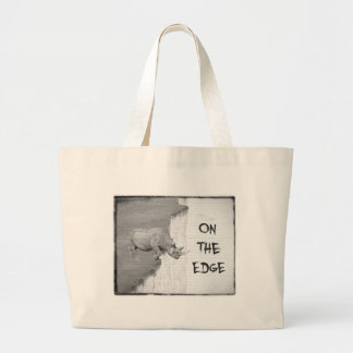 On The Edge Large Tote Bag