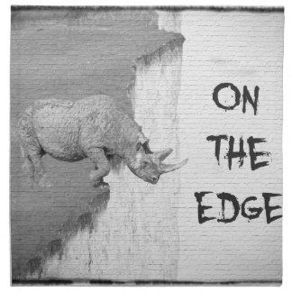 On The Edge Napkin