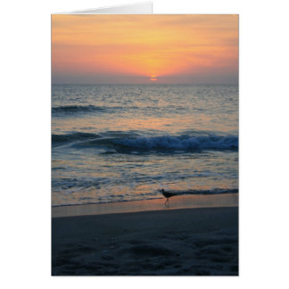 On The Edge of Sunset II Card