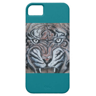 On The Edge-Tiger iPhone 5 Case