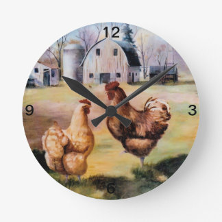 On the Farm Clock
