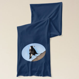 On the fence Magpie Scarf