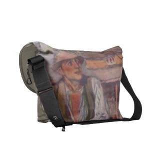 On The Fence Messenger Bags