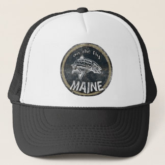ON THE FLY MAINE TRUCKER HAT