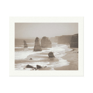 On the Great Ocean Road Stretched Canvas Print