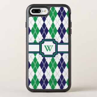 On the Green Argyle Otterbox Phone Case