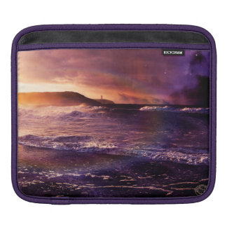 On the Horizon of the Infinite Fractalscape iPad Sleeve