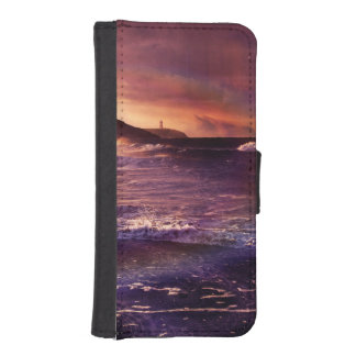 On the Horizon of the Infinite Fractalscape iPhone SE/5/5s Wallet Case