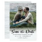 On the Horizon, Photo Save the Date Invitation