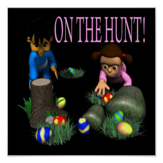 On The Hunt Poster