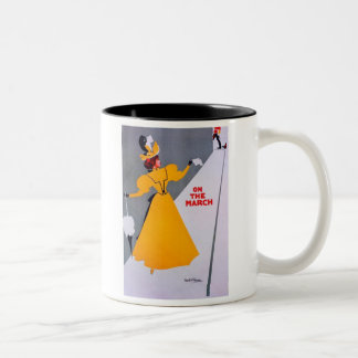 On the March Two-Tone Mug