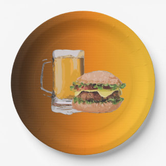 On The Menu Oktoberfest Party Paper Plates