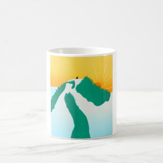 On the Mountain-stephen Huneck Coffee Mug