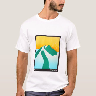 On the Mountain - Stephen Huneck T-Shirt