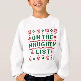 On the Naughty List Sweatshirt