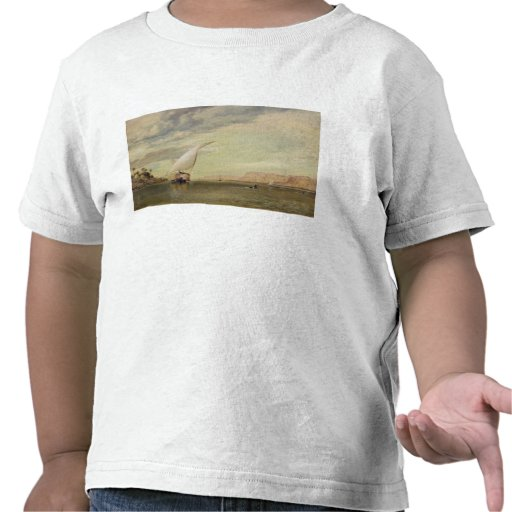 On the Nile (oil on canvas) Shirts