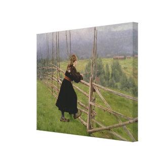 On the Plain Canvas Prints