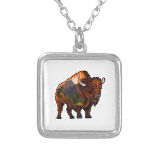 On the Prairie Silver Plated Necklace