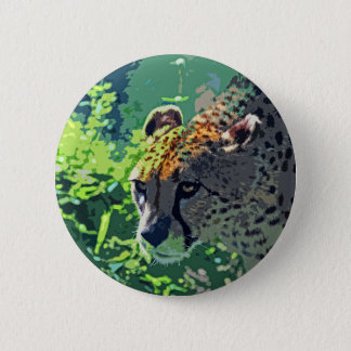 On the Prowl-d 6 Cm Round Badge