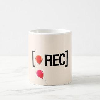 On the record coffee mug
