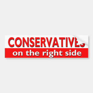 On the right side bumper sticker