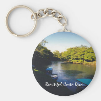 On the River in Beautiful Costa Rica Key Ring