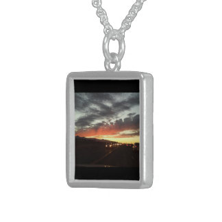 """""""On the Road"""" A colorful sunset necklace"""