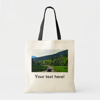 On the road canvas bag