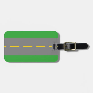 On the Road Luggage Tag