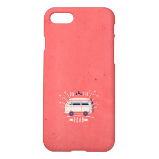 On The Road - Pink iPhone 8/7 Case