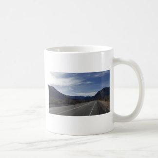 on the road to mt charleston nv coffee mug