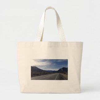 on the road to mt charleston nv large tote bag