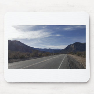 on the road to mt charleston nv mouse pad