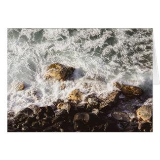 On the Rocks Notecard
