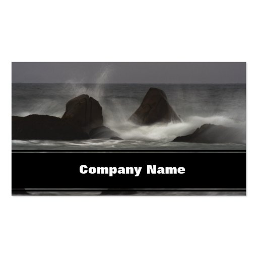 On The Rocks - White Point Beach, NS Business Cards