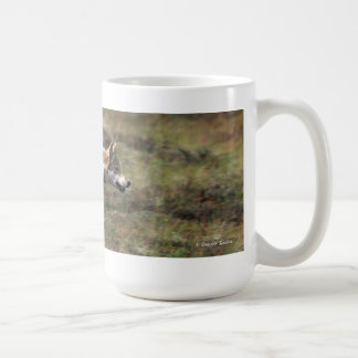 """On the Run"" Wild Wolf Mug"