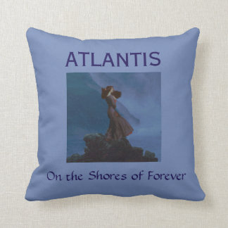 On the Shores of Forever Throw Pillow