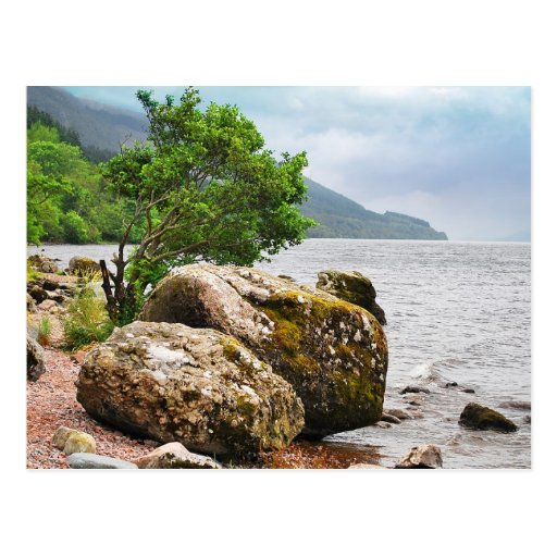 On the shores of Loch Ness Postcards